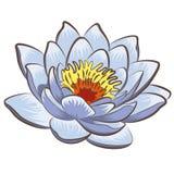 Flor de Lotus stock de ilustración