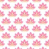 Flor de Lotus como símbolo de la yoga Fotos de archivo libres de regalías
