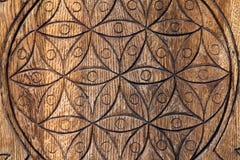 Flor de madera de la vida. Foto de archivo libre de regalías