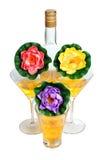 Flor de Martini Fotos de archivo libres de regalías