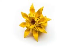 Flor de Origami fotografía de archivo