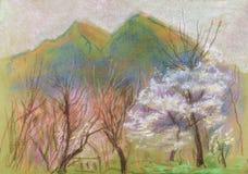 Flor de palmeras Imágenes de archivo libres de regalías