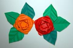 Flor de papel Imagenes de archivo