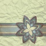 Flor de papel Imagen de archivo