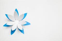 Flor de papel del origami Foto de archivo