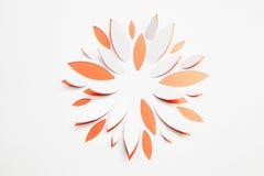 Flor de papel del origami Foto de archivo libre de regalías