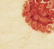 Flor de Rosa no fundo do vintage fotos de stock