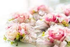 Flor de Rosa para a decoração do casamento Imagem de Stock Royalty Free