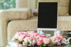 Flor de Rosa para a decoração do casamento Fotos de Stock