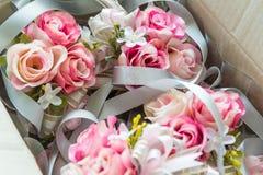 Flor de Rosa para a decoração do casamento Foto de Stock