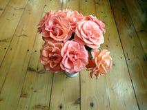 Flor de rosas rosadas Fotos de archivo libres de regalías