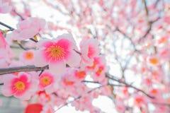 Flor de Sakura, flor falsa Imagen de archivo