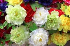 Flor de seda Foto de archivo libre de regalías