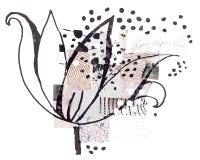 Flor decorativa Imagen de archivo libre de regalías