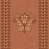 Fondo ornamental decorativo stock de ilustración