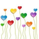 Flor del amor - ejemplo,  Imagen de archivo libre de regalías