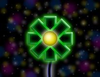 Flor del espacio foto de archivo libre de regalías