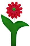 Flor del fieltro del color de rosa Imagenes de archivo