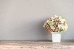 Flor del florero foto de archivo