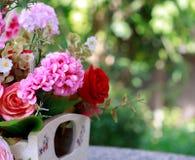 Flor del foco y fondo suaves de la falta de definición Foto de archivo libre de regalías