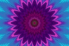 Flor del fondo del estampado de flores del arco iris shapes libre illustration