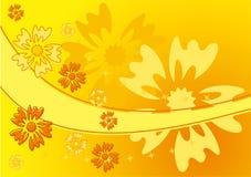 Flor del fondo, vector stock de ilustración