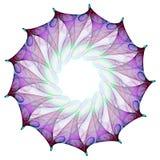 Flor del fractal Foto de archivo libre de regalías