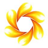 Flor del fuego Imágenes de archivo libres de regalías