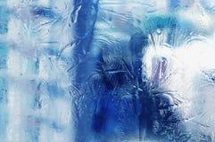 Flor del hielo Fotos de archivo libres de regalías