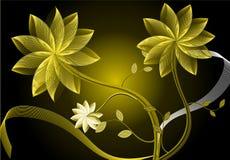 Flor del oro Imagenes de archivo