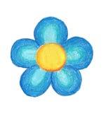 Flor del trabajo hecho a mano Imagen de archivo libre de regalías