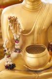 Flor a disposición de la imagen Buda Fotos de archivo libres de regalías