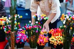 Flor do casulo fotos de stock royalty free