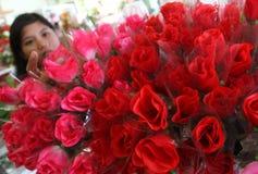 Flor do dia de são valentim Fotografia de Stock Royalty Free