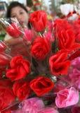 Flor do dia de são valentim Imagens de Stock Royalty Free