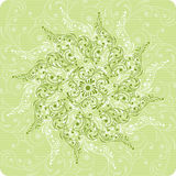 Flor do fundo, elementos para o projeto Fotos de Stock Royalty Free