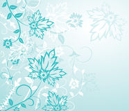 Flor do fundo, elementos para o projeto, vetor Imagens de Stock