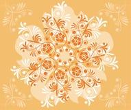Flor do fundo, elementos para o projeto, vetor Foto de Stock