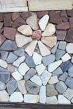 Flor do mármore do travertino do tijolo enfrentando Fotos de Stock Royalty Free