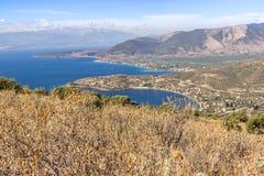 Flor do monte de Grécia Imagem de Stock Royalty Free