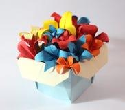 Flor do origâmi foto de stock royalty free