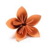 Flor do origâmi fotografia de stock