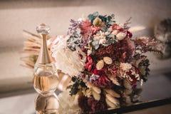 Flor do ramalhete do casamento com fragance imagens de stock royalty free