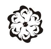 Flor do teste padrão ilustração royalty free