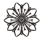 Flor do teste padrão ilustração do vetor