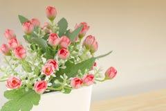 Flor do vermelho de Atifialcial Imagem de Stock