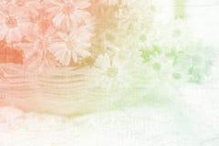 Flor do vintage Imagem de Stock Royalty Free