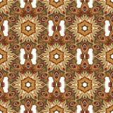 Flor do vintage do fundo Teste padrão floral sem emenda Papel de parede abstrato Imagens de Stock Royalty Free