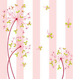 Flor doce com fundo Imagem de Stock