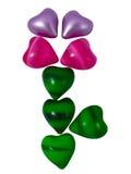 Flor dos corações Foto de Stock Royalty Free
